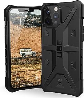Urban Armor Gear Pathfinder Hülle Apple iPhone 12 Pro Max (6,7' Zoll) Schutzhülle (Wireless Charging kompatibel, Fallschutz nach Militärstandard, Sturzfest, Ultra Slim Bumper)   schwarz