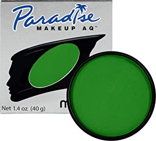 Mehron Makeup Paradise AQ Face & Body Paint (1.4 ounce) (Amazon Green)