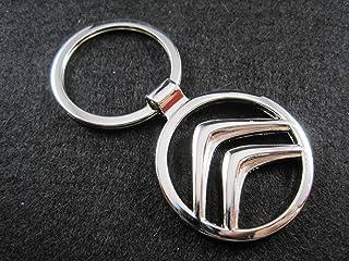 Portachiavi allo Xeno in Metallo Brillante Citroen