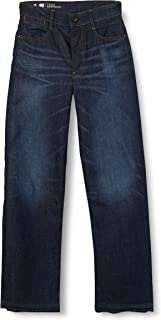 G-STAR RAW Tedie Ultra High Waist Straight Ripped Ankle C Vaqueros Mujer
