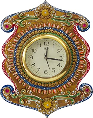 Shiva Arts Decorative Beautiful Handicrafted Wall Clock