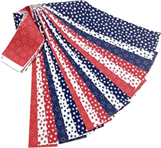 Best red white and blue patchwork fabric Reviews