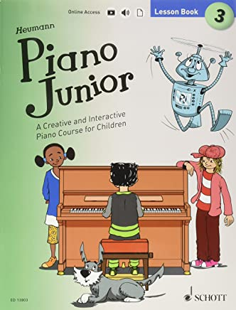 Piano Junior, Lesson Book: A Creative and Interactive Piano Course for Children: Includes Downloadable Audio