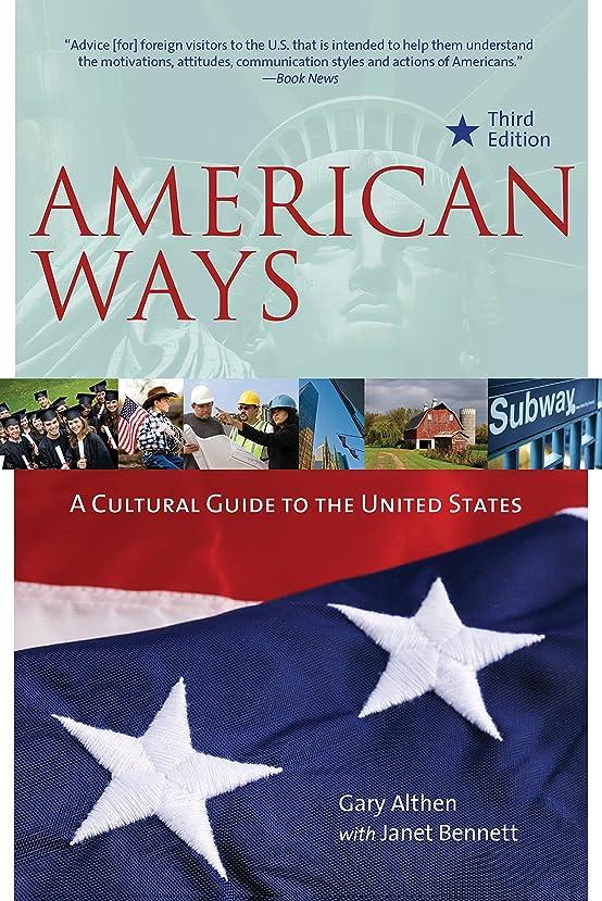 気付くボックス噴出するAmerican Ways: A Cultural Guide to the United States of America (English Edition)