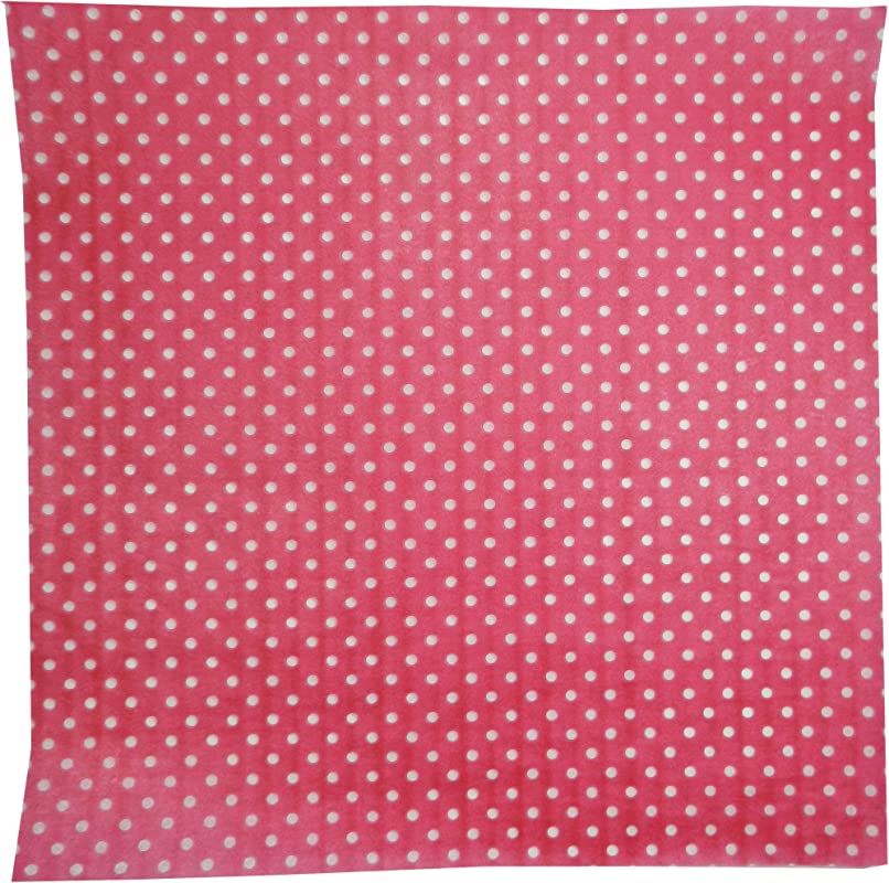 Regency Wraps RW376PK D 50 Treat Sheets Pink With White Dots Set Of 50 Liners