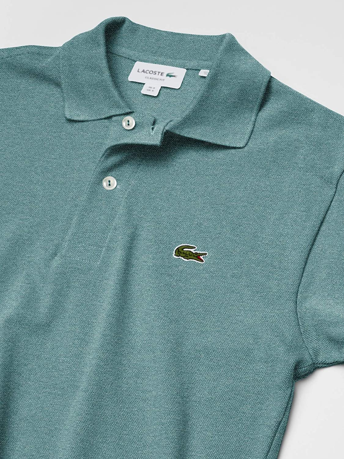 Lacoste Mens Short Sleeve Classic Chine L.12.12 Polo Shirt