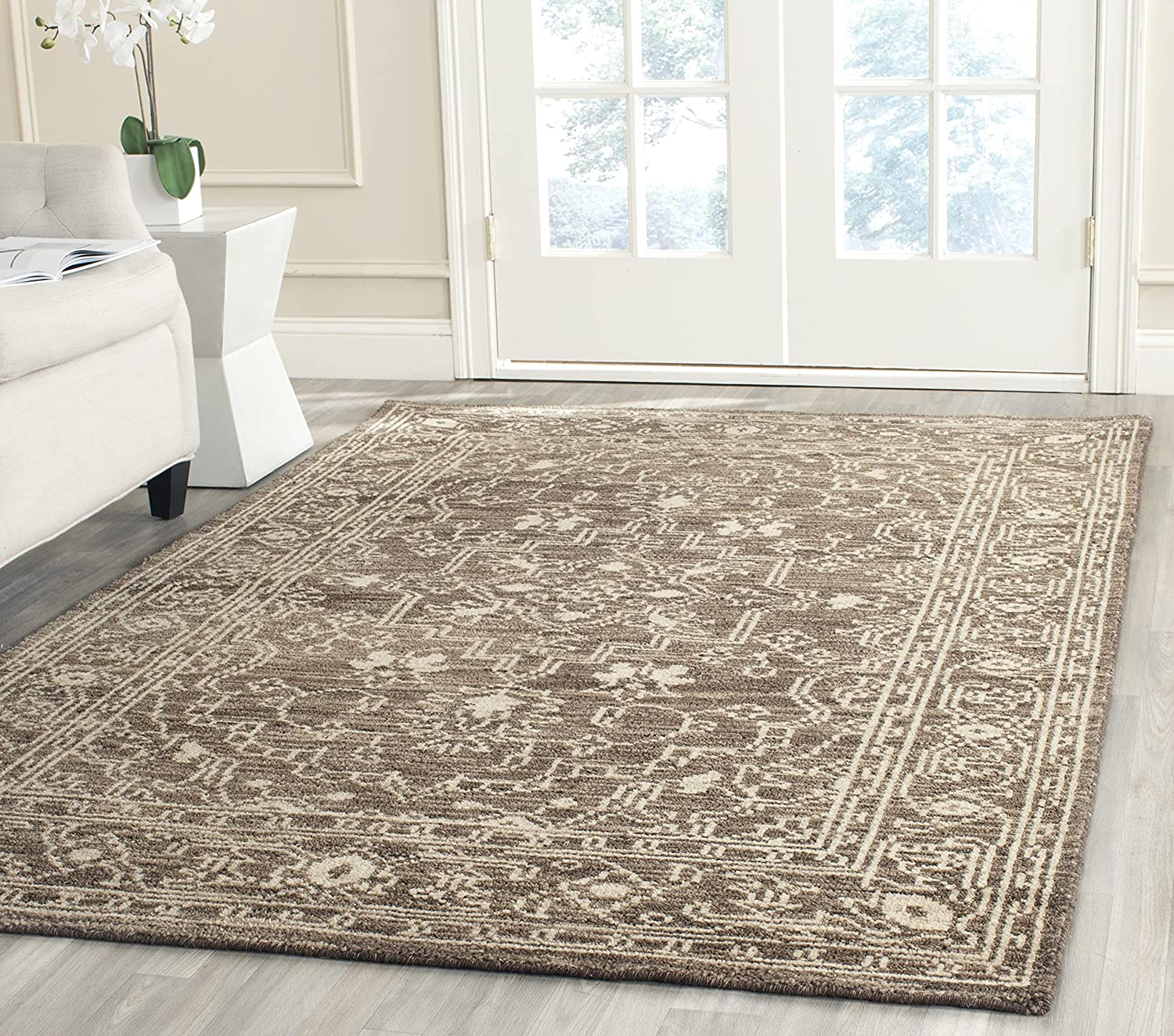 Safavieh Kenya Lowest price Wholesale challenge Collection KNY682A Hand-Knotted Premium Wool Area