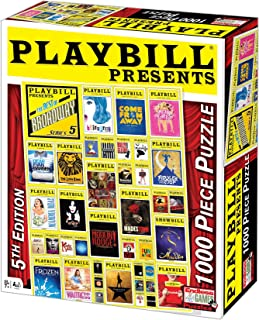 Playbill Broadway Cover 1000pc.( Endless Games)[PLAYBILL BROADWAY COVER 1000PC][Other]