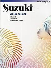 Suzuki Violin School -Volume 3 (Revisied Edition): Violin Part