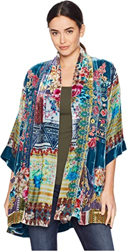 Biza Embroidery Lined Kimono