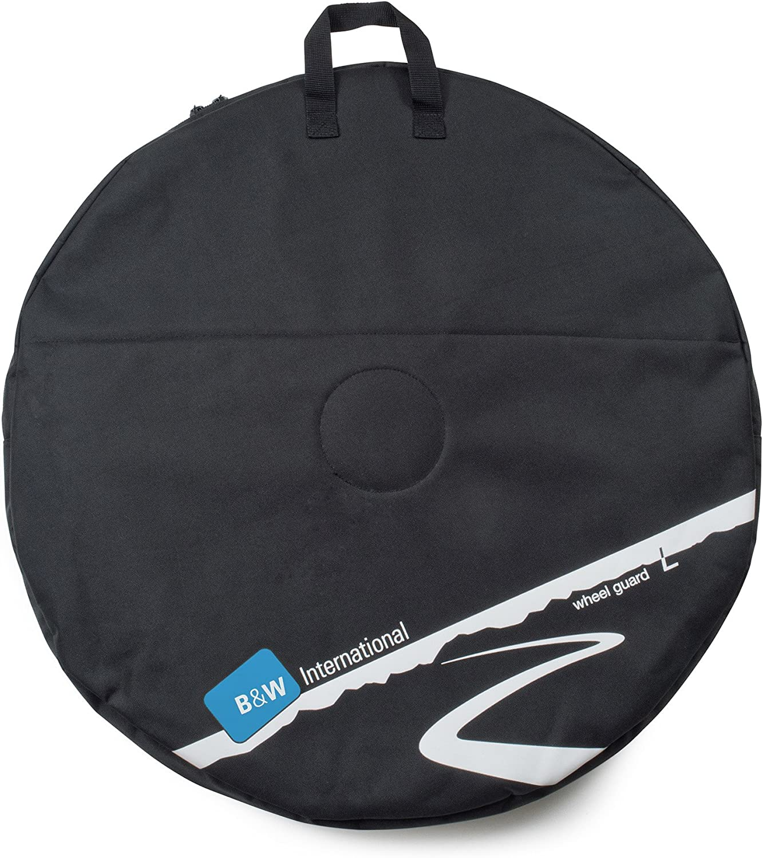 B&W International Wheelguard, Black, Large