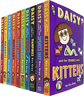 Daisy and The Trouble Collection 10 Books Set by Kes Gray (Daisy and The Trouble with Kittens, Sports Day, Vampires, Zoos,...