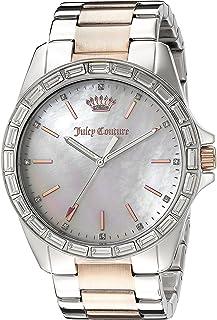 Juicy Couture Women's 1901296 Analog Display Quartz Two Tone Watch