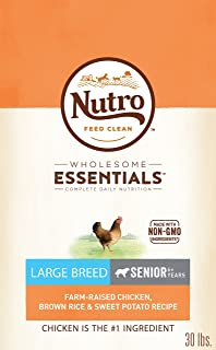 Nutro Wholesome Essentials Natural Senior Dry Dog Food