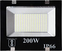 Gesto® 200 Watt Ultra Thin Slim Ip66 LED Flood Outdoor Light Cool White Waterproof- 200W