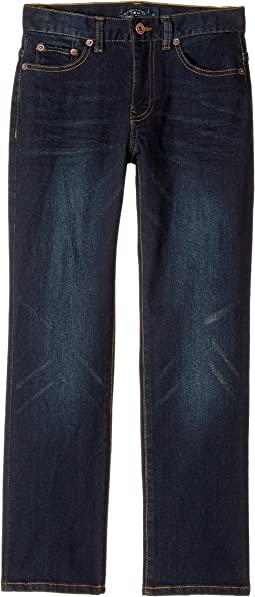 Lucky Brand Kids - Five-Pocket Classic Straight Stretch Denim Jeans in Barite (Big Kids)