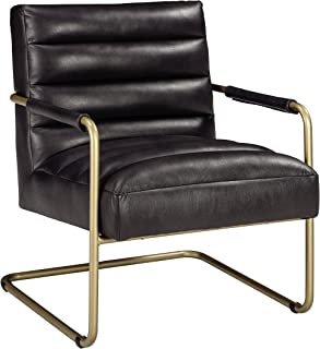 Signature Design by Ashley Accent Chair, Black/Gold