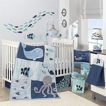 Lambs \u0026 Ivy Oceania 6-Piece Baby Crib