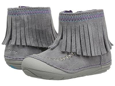 Stride Rite Soft Motion Tasha (Infant/Toddler) (Grey) Girls Shoes