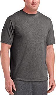Amazon Essentials Men's Big & Tall Performance Cotton Short-Sleeve T-Shirt Shirt