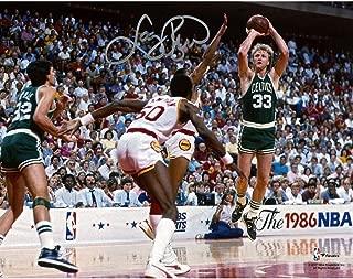 Larry Bird Boston Celtics Autographed 8