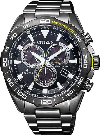[シチズン]CITIZEN 腕時計 PROMASTER プロマスター エコ・ドライブ電波時計 ランドシリーズ ダイレクトフライト CB5037-84E メンズ