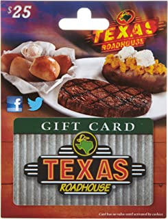 texas roadhouse gift certificates