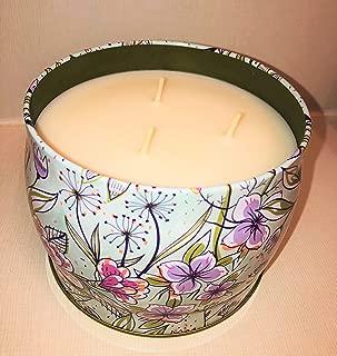 Simply Indulgent Luxury Fragranced Soy Candle- Raspberry. Mandarin & Jasmine (1, 21oz)