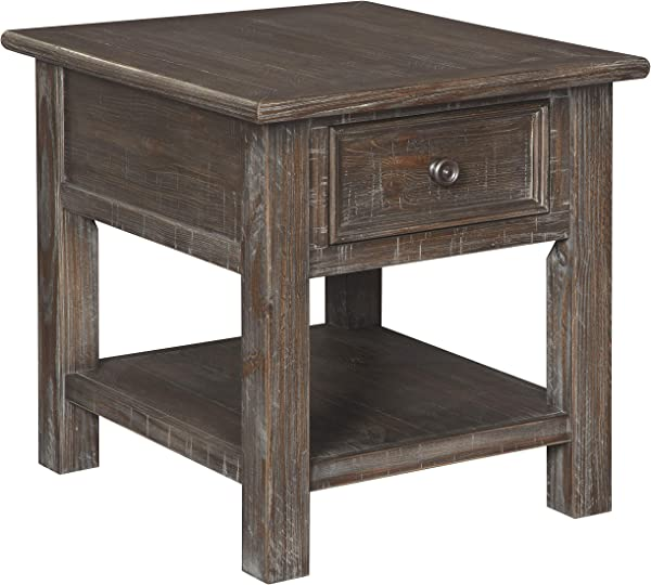 Signature Design By Ashley T648 3 Wyndahl Rectangular End Table 24 W X 27 D X 25 H Brown