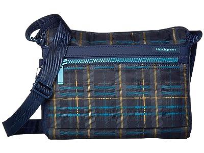 Hedgren Eye RFID Shoulder Bag (Tartan Print) Shoulder Handbags