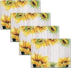 Amazon Com Sunflower Placemats