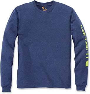 Carhartt Men's Signature Logo Long-Sleeve T-Shirt