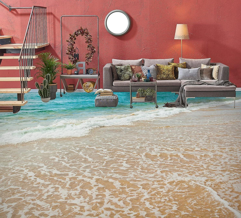 3D Beach 6843 Floor Wallpaper Murals Wall AJ OFFicial shop Decal Print Popular product WALLPAP