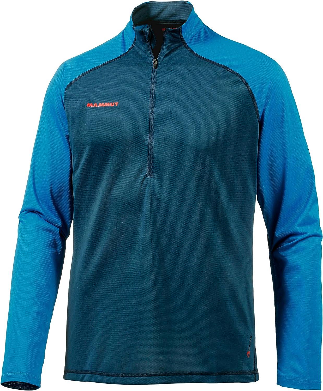 Mammut Atacazo Zip Pull Light Men's Long-Sleeved T-Shirt, Men, Langarm Shirt Atacazo Light Zip Pull