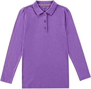 Girl's Breathable Quick Dry Long Sleeve Polo