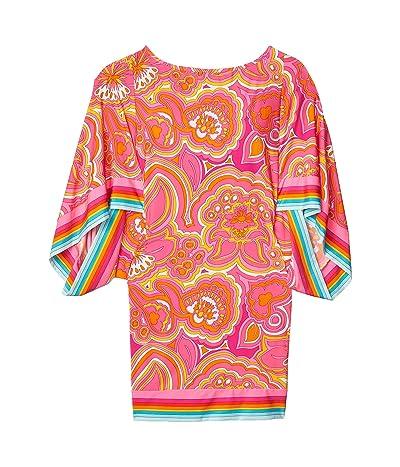 Trina Turk 25th Anniversary Morning Sunrise Tunic Swimsuit Cover-Up (Multi) Women