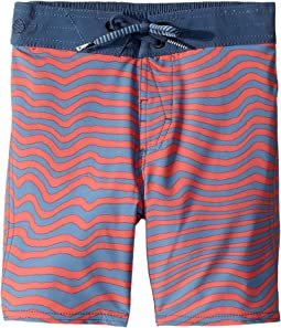 Volcom Kids - Mag Vibes Elastic Boardshorts (Toddler/Little Kids)