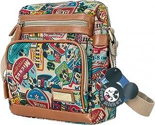 6052e76b4f2 Disney Vintage Mickey Mouse Pattern Multi Purpose Cross Body Bag