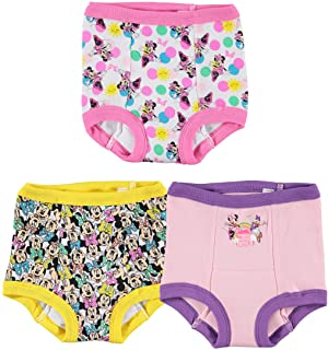 Disney Girls' Toddler Minnie Mouse Multi-pack Potty Training Pants, Multicolor