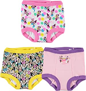 Girls' Toddler Minnie Mouse Multi-pack Potty Training Pants, Multicolor