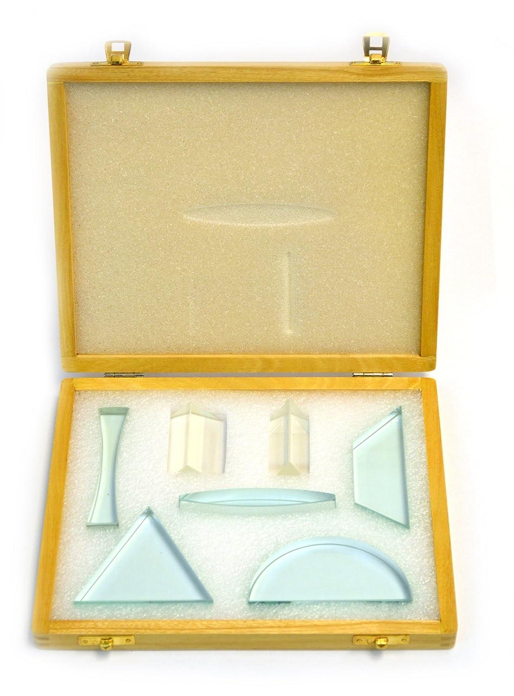 Glass discount Prisms Lenses Set 7 Transparent Pieces Ranking TOP13 13mm - Thick