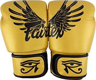 Fairtex Gold Falcon Limited Edition Training Gloves-12oz.