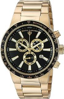 Men's 10057-YG-11-GA Endurance Analog Display Swiss Quartz Gold Watch
