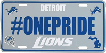 NFL Hashtag License Plate