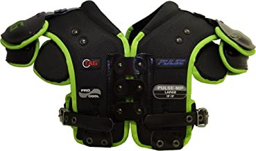 TAG Pulse-MP Multi-Position Football Shoulder Pad for Offensive and Defensive Line, Fullback, Running Back, Tight End, Linebacker