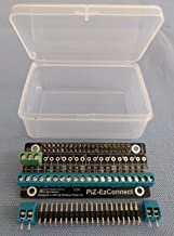 Alchemy Power Inc. Pi-Zero-EzConnect. Pi-Zero size GPIO connector. A HAT to connect GPIOs and sensors to Raspberry Pi Zero, Pi Zero W, Pi-3, or Pi-2.
