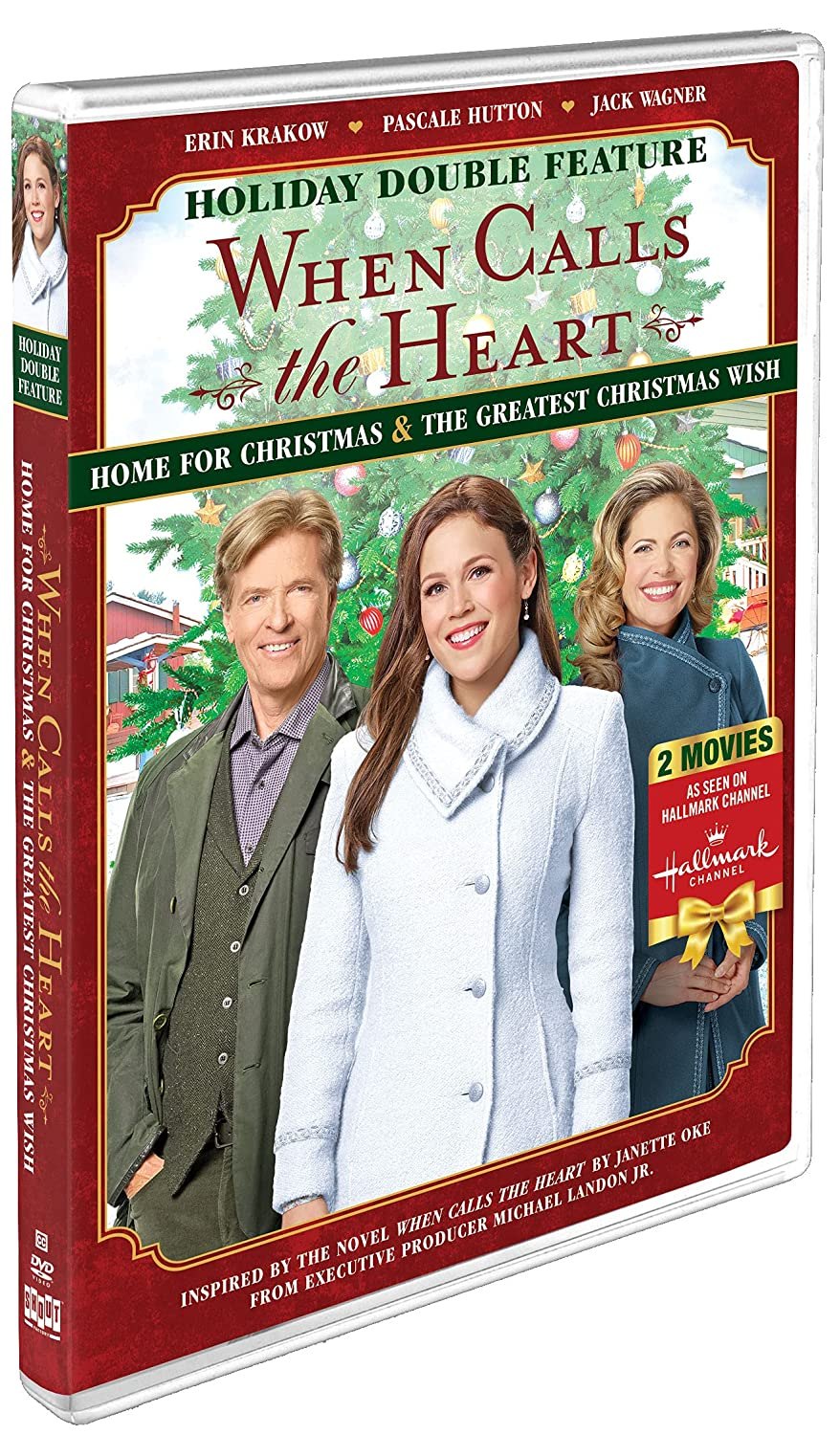 When Calls the Heart Holiday Double Feature: Home for Christmas & The Greatest Christmas Wish [DVD]