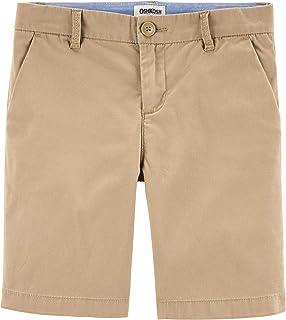 Osh Kosh Girls' Little Uniform Shorts, Wicker, 14