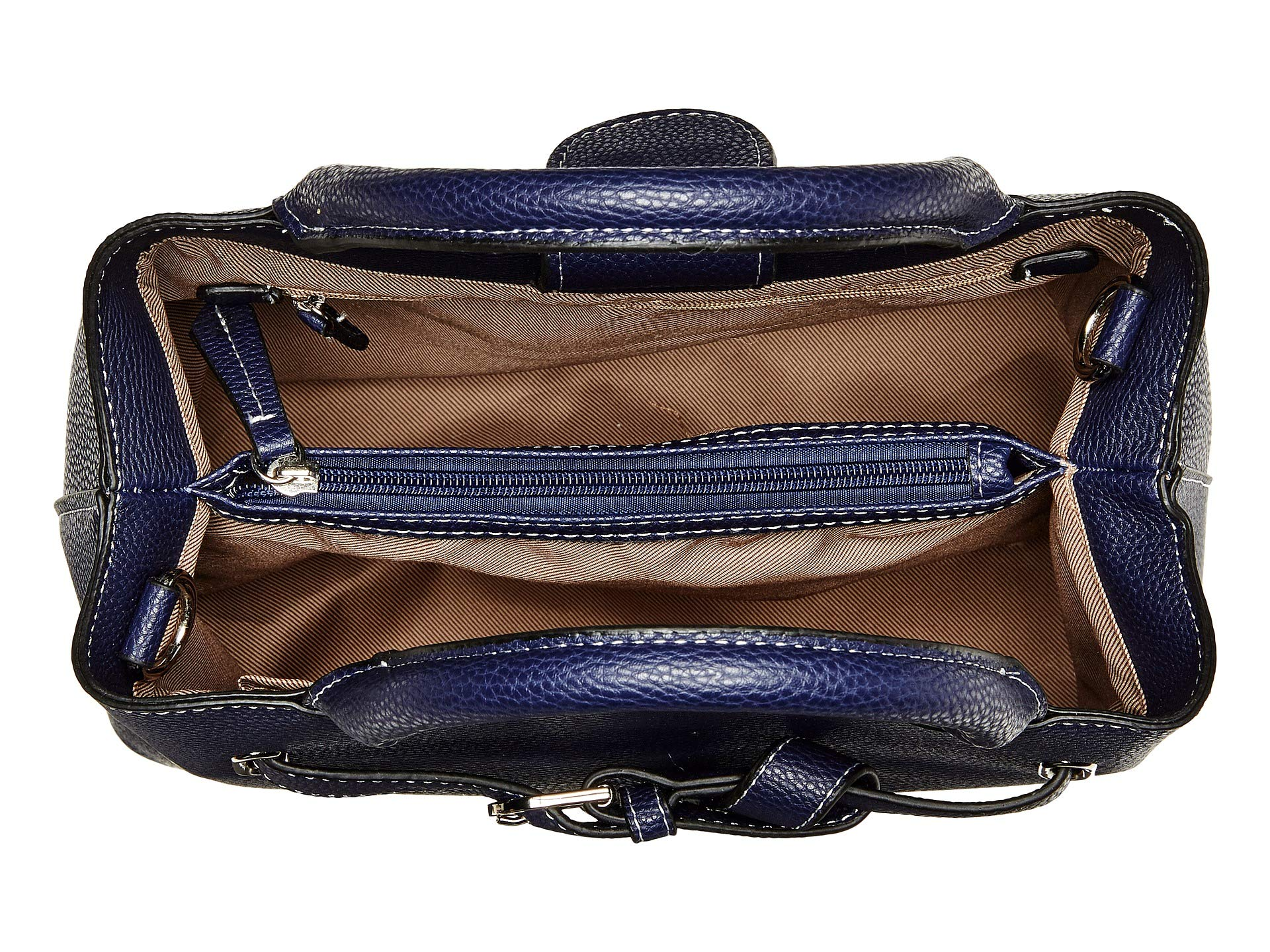 Triple Navy Satchel Ruby London Fog 6xnY60w