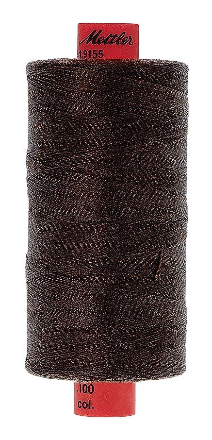 Mettler Metrosene Old Number 1155-0618 Poly Thread, 1000m/1094 yd, Chocolate